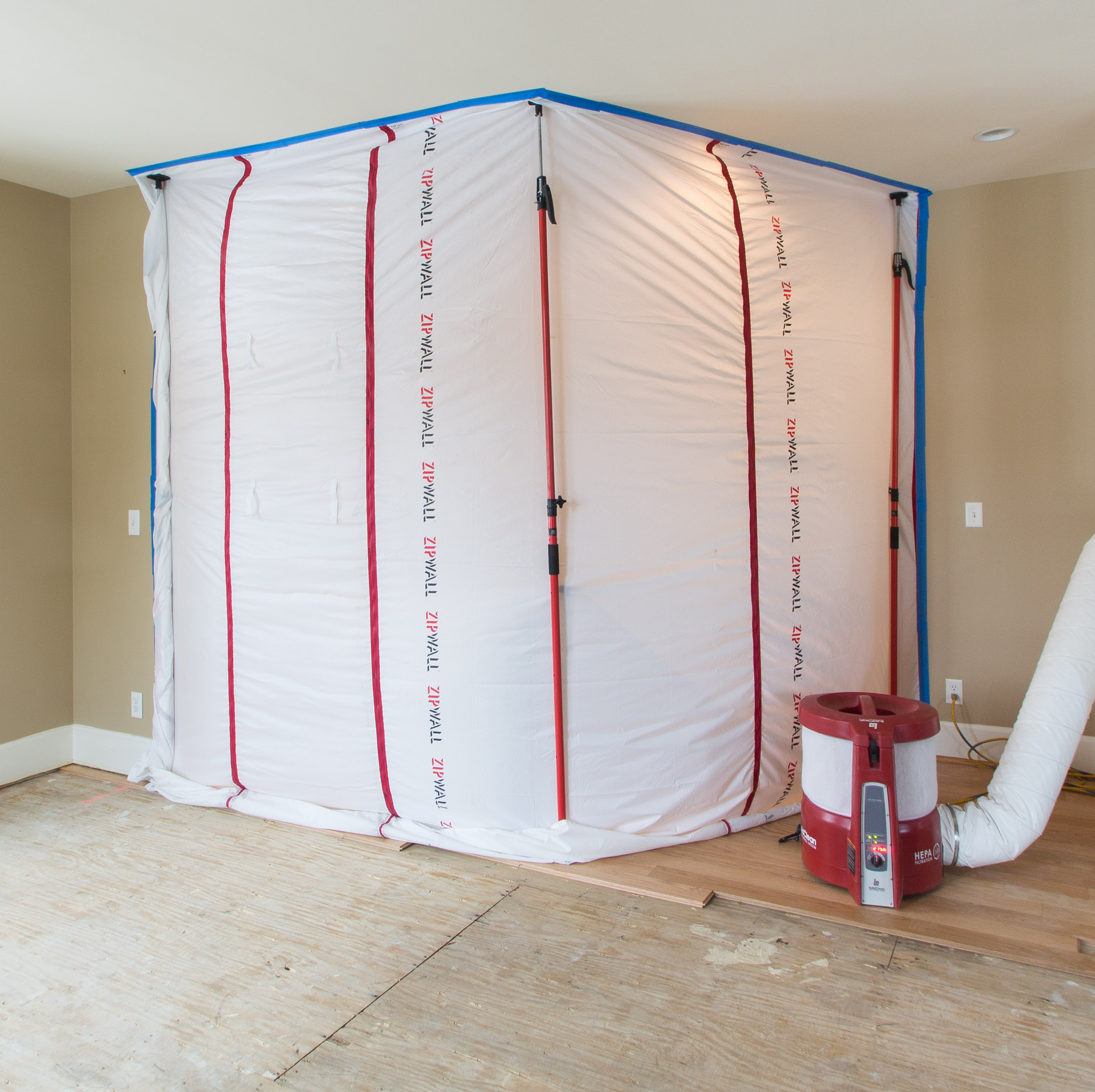 Livability and Dust Proofing - Designer Builders Inc